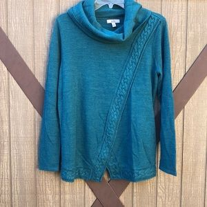 Croft and Barrow Hunter Green Sweater